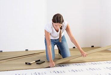Cómo instalar suelo laminado Quick Step