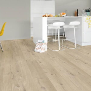 Roble algodón beige Quick Step Livyn Pulse Click Plus RPUCP40103