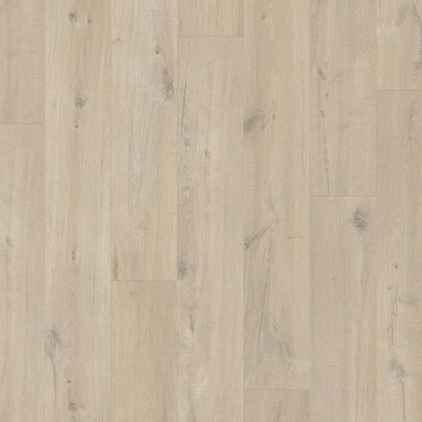Roble algodón beige Quick Step Livyn Pulse Click Plus RPUCP40103