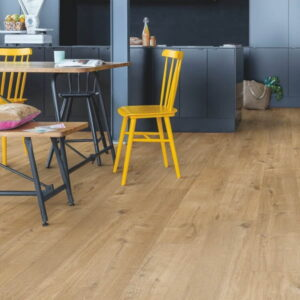 Roble algodón natural Quick Step Livyn Pulse Click Plus RPUCP40104