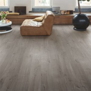 Roble algodón acogedor gris Quick Step PULSE RIGID CLICK RPUCL40202 - 001